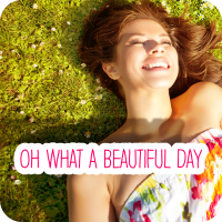 Oh What A Beautiful Day - 2 Versionen (2:56)